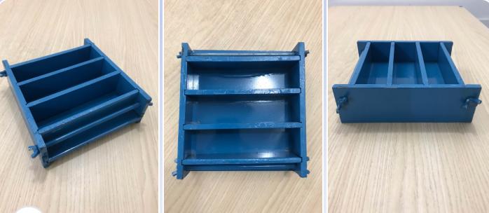Khuôn đúc mẫu vữa 4x4x16 bằng thép