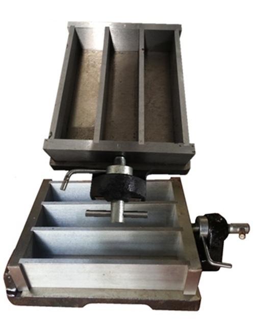 Khuôn đúc mẫu xi măng 40x40x160mm